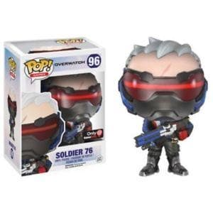 Funko Pop! Games Overwatch #96 Soldier: 76 - Characters Co