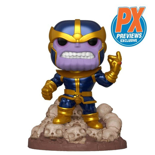 "Marvel Funko Pop! Thanos Snap (On Skulls) 6"" (Pre-Order) - Characters Co"