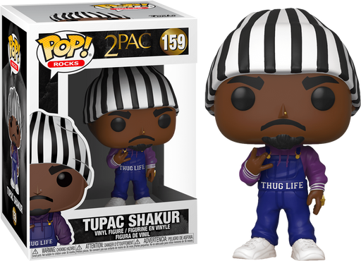 Funko Pop! Rocks Tupac Shakur Exclusive Thug Life Vinyl Figure (Pre-Order) - Characters Co