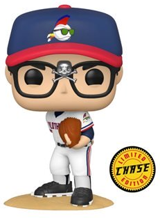 Wild Thing Rick Vaughn Funko Pop! Chase Movies Major League Vinyl Figure (Pre-Order) - CharactersCo.com