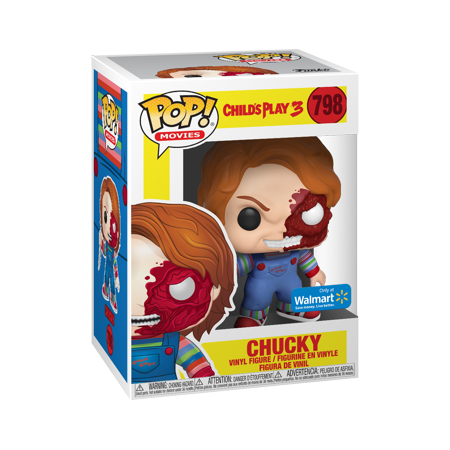 Bloody Chucky Funko Pop! Movies Child's Play Walmart Exclusive Vinyl Figure - CharactersCo.com