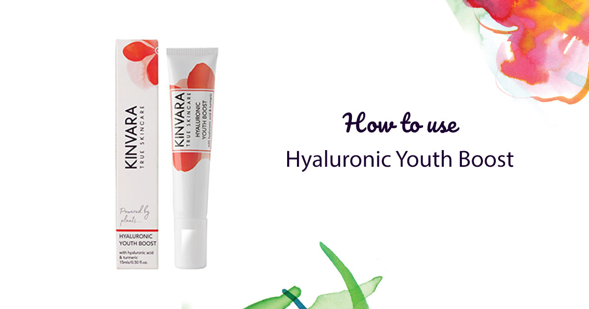 How to Use Kinvara Hyaluronic Youth Boost