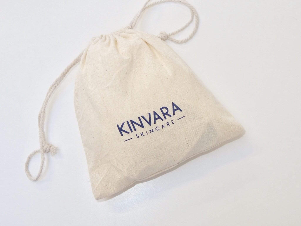 Kinvara Bamboo Face Cloth and Bag