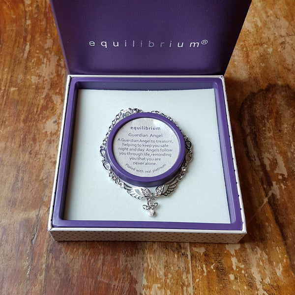 Equilibrium Angel Wings Charm Bracelet