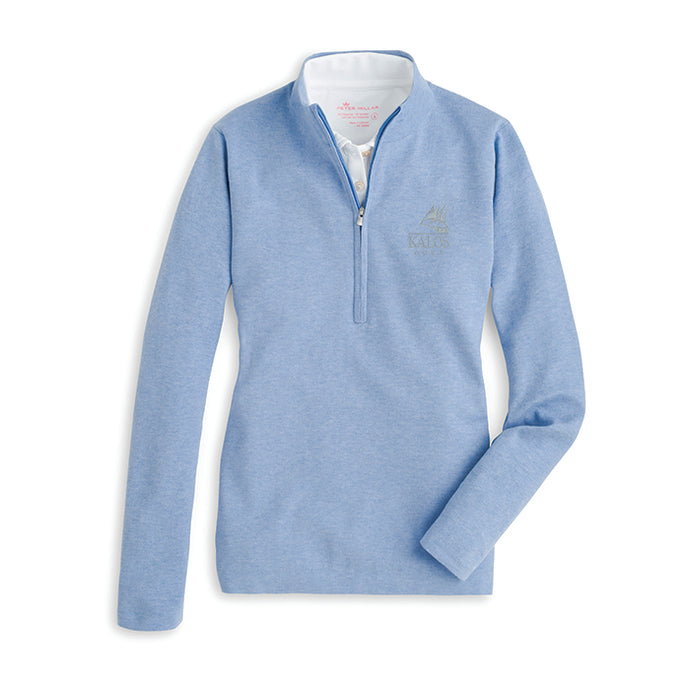 Women's Half Zip Cotton Sweater