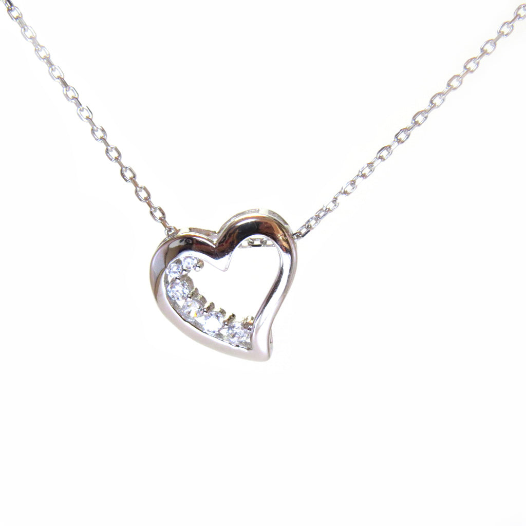 Sterling Silver Sweetheart Necklace