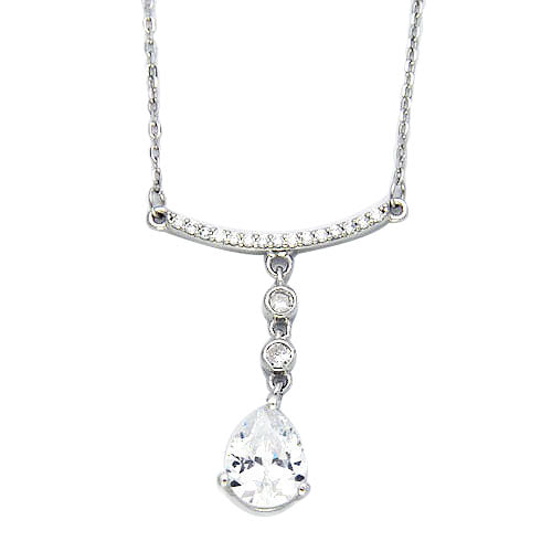 Sterling Silver Adriana Necklace