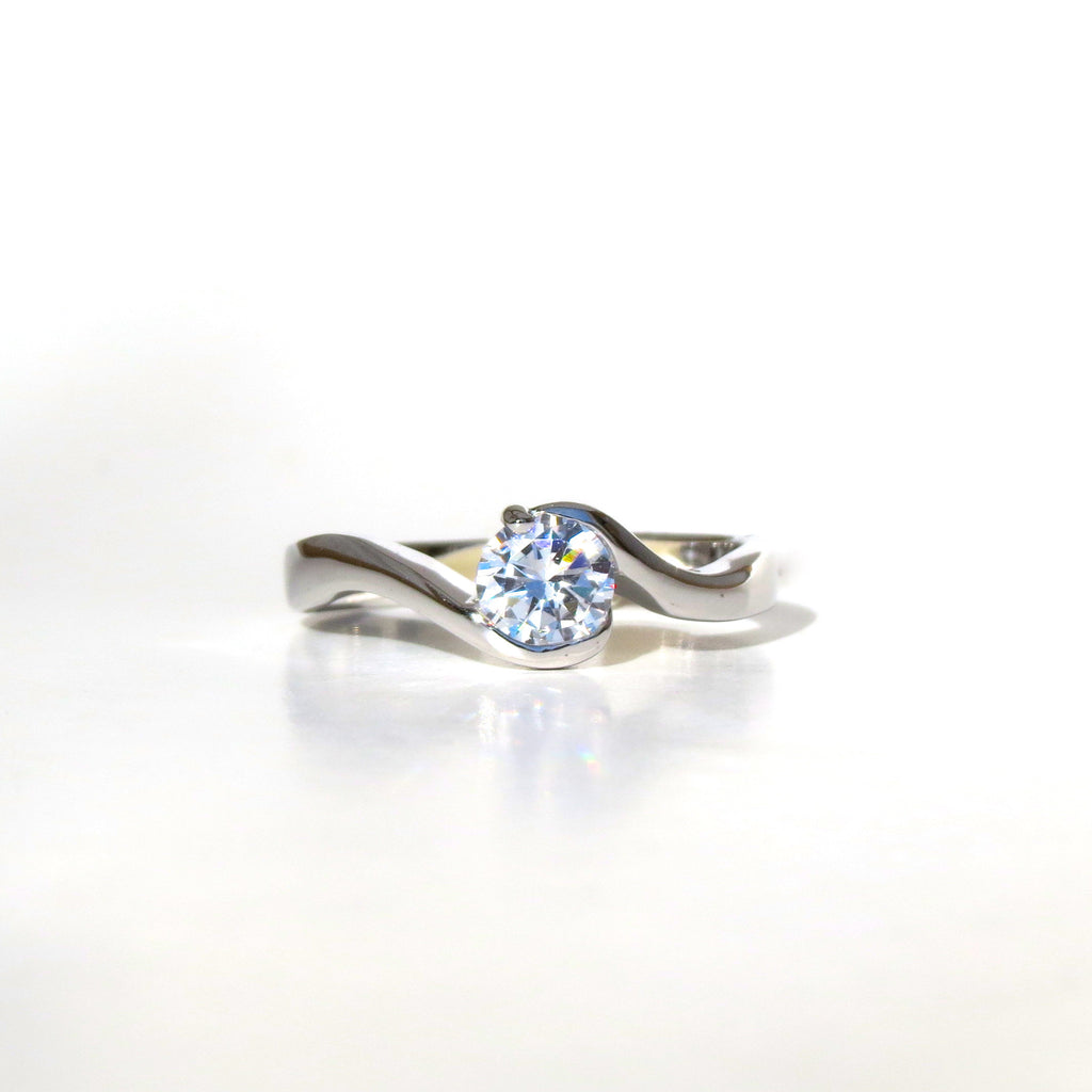 Sterling Silver Diora Ring