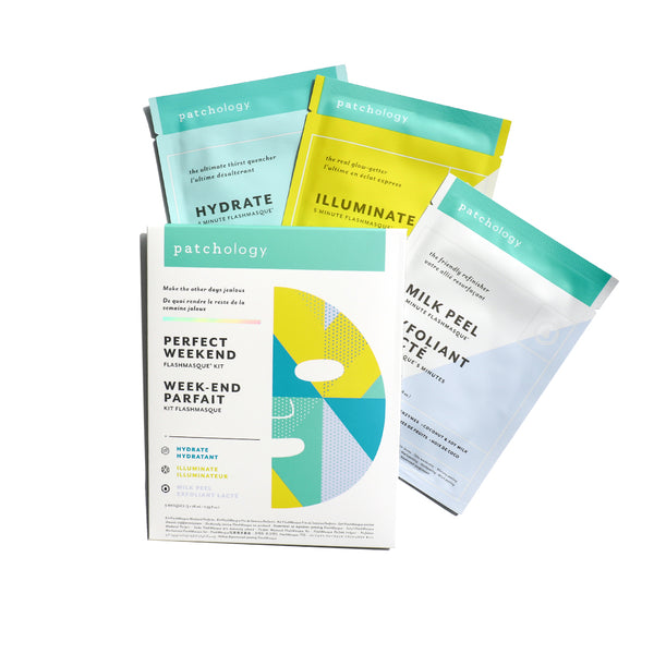 FlashMasque® Sheet Mask: Perfect Weekend Trio