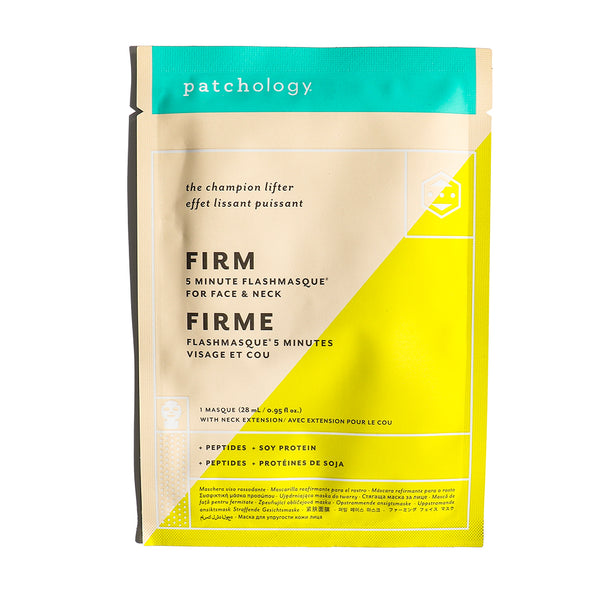 FlashMasque® Firm 5 Minute Sheet Mask: Single