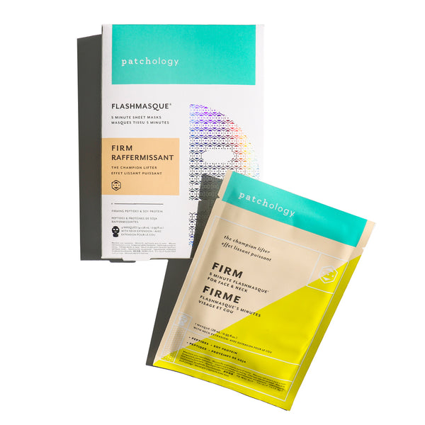 FlashMasque® Firm 5 Minute Sheet Mask: 4 Pack