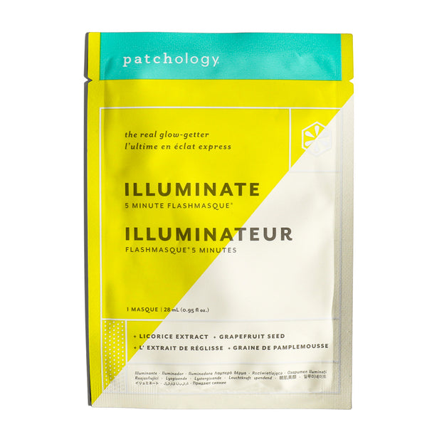 FlashMasque® Illuminate 5 Minute Sheet Mask: Single Mask
