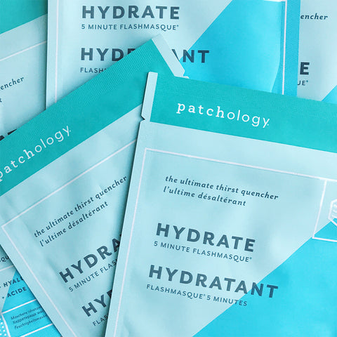 FlashMasque® Hydrate 5 Minute Sheet Mask: 4 Pack
