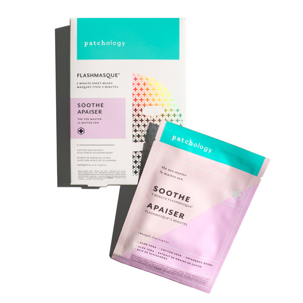 FlashMasque® Soothe 5 Minute Sheet Masks: 4 Pack