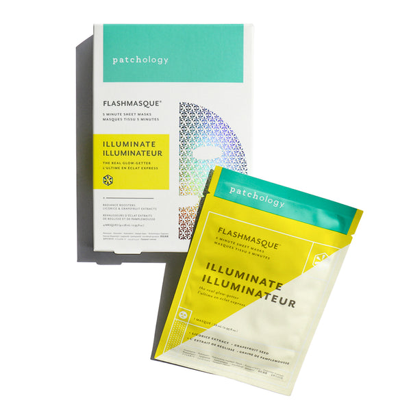 FlashMasque® Illuminate 5 Minute Sheet Mask: 4 Pack