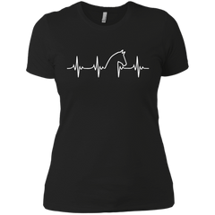 Horse Heartbeat #1 - Ladies' T-Shirt