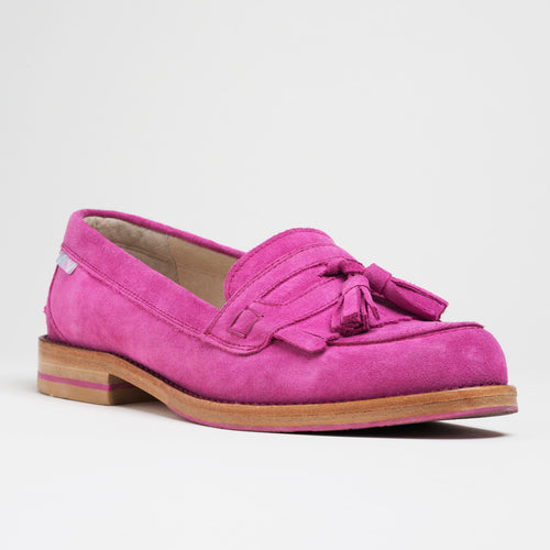 Bright Pink Loafers and Tassel Loafers