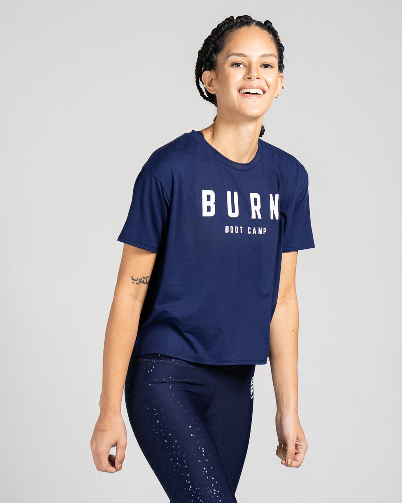 Burn Boot Camp Boxy Tee