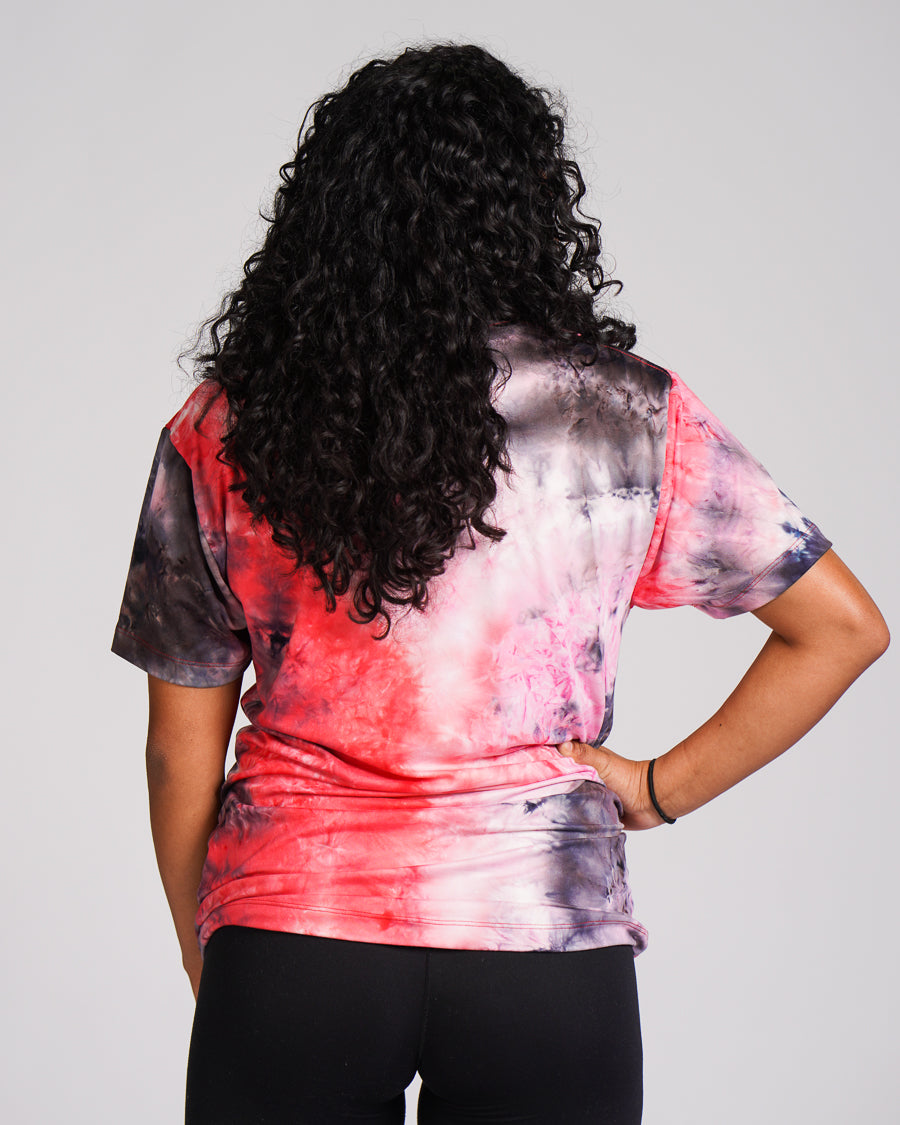 Burn Electric Tie-Dye Tee