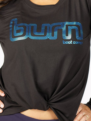Burn Twist Front Long Sleeve