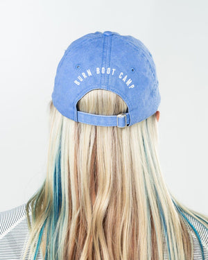Burn Hair Don't Care Hat - Periwinkle