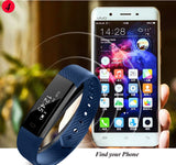 Smart  Fitness Tracker Step Counter  Wristband