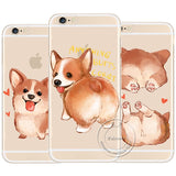 iPhone  Dog   Hard Plastic  Cover