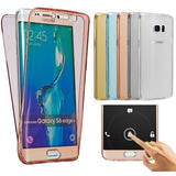 Soft TPU Full body Protective Clear Cover For Samsung Galaxy S4 S5 S6 S7 Edge A3 A5 A7 J5 J7 2016 J1 J120 J510 G530 Phone Cases