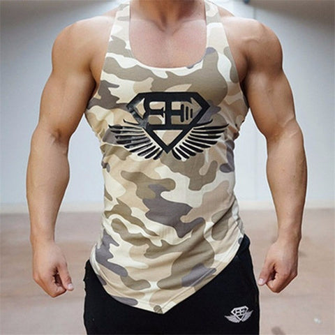 Bodybuilding Stringers Tank Tops