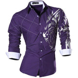 Long Sleeve Casual Slim Fit Male Shirt