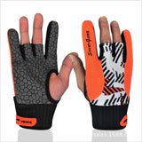 Professional anti-skid  bowling gloves Comfortable Bowling accessories Semi-finger  Gloves for Bowling