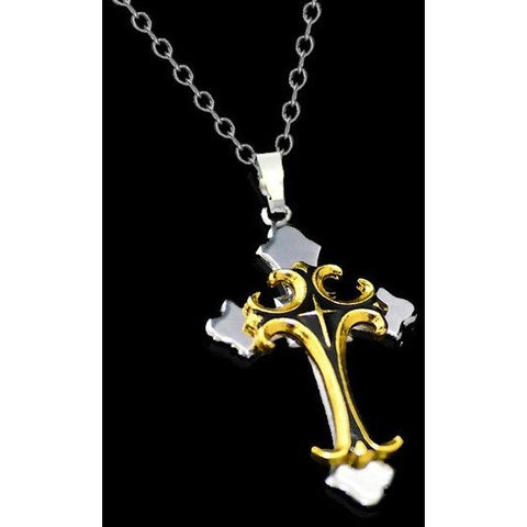 Christian  Cross Pendant Necklace