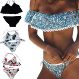 Brazilian Off Shoulder Beach Summer Swimwear