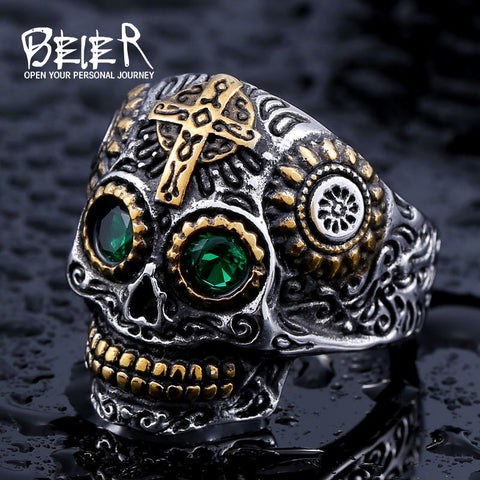 Stainless Steel skull  Ring - Westbury Collections