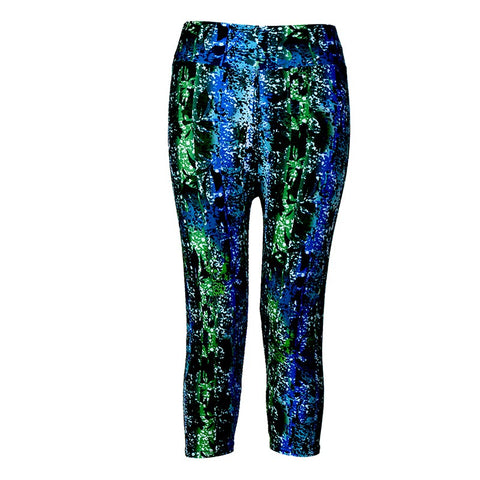 Fitness Printed Stretch  Leggings