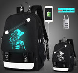 Night light  Backpack Fashion 15.6inch Laptop Backpack Teenagers