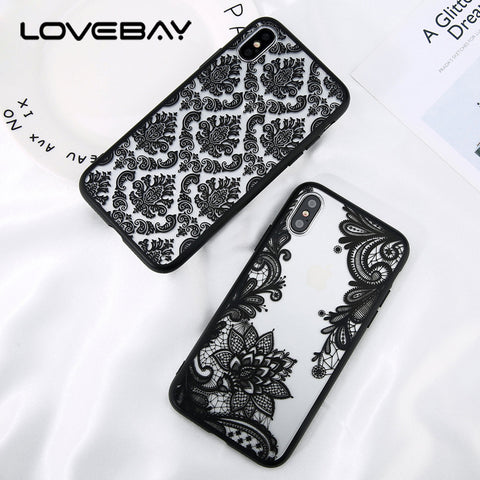 iPhone X  Lace Beautiful Case - Westbury Collections