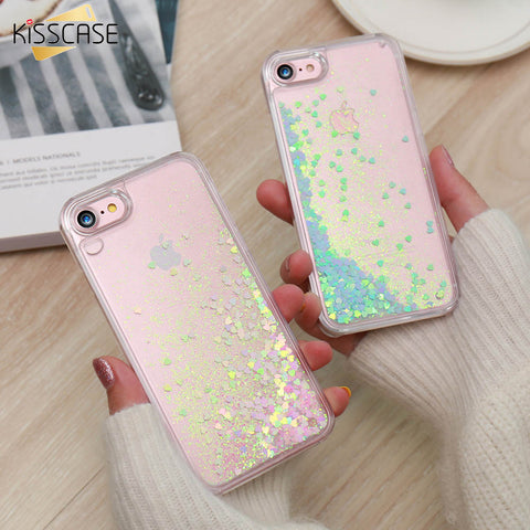 Shiny Quicksand Liquid Case For iPhone - Westbury Collections