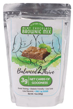 ONLY 2g SUGAR and 3g NET CARBS. MINT Chocolate Diabetic Friendly, Gluten Free, Low Carb Brownie Mix from Balanced2Thrive. Add To Cart for a link to Amazon. Currently unavailable $13.99