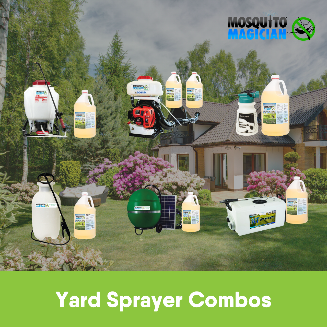 Mosquito Magician Yard Sprayer Combos