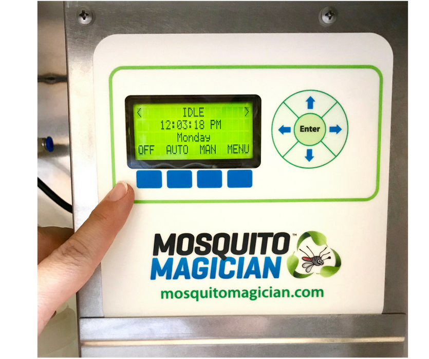 Automated Mosquito Killer Machine - Stainless Steel
