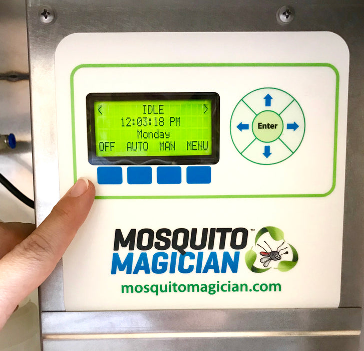 Automated Mosquito Killing and Fertilizing Machine - Stainless Steel