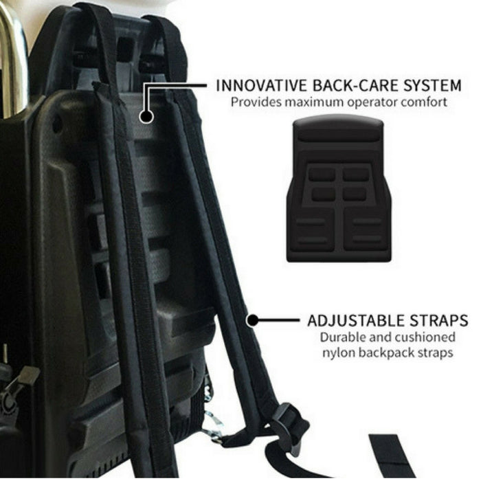 Gas Powered Backpack Fogger with 2 Gallons Natural Mosquito Killer & Repellent Concentrate Combo