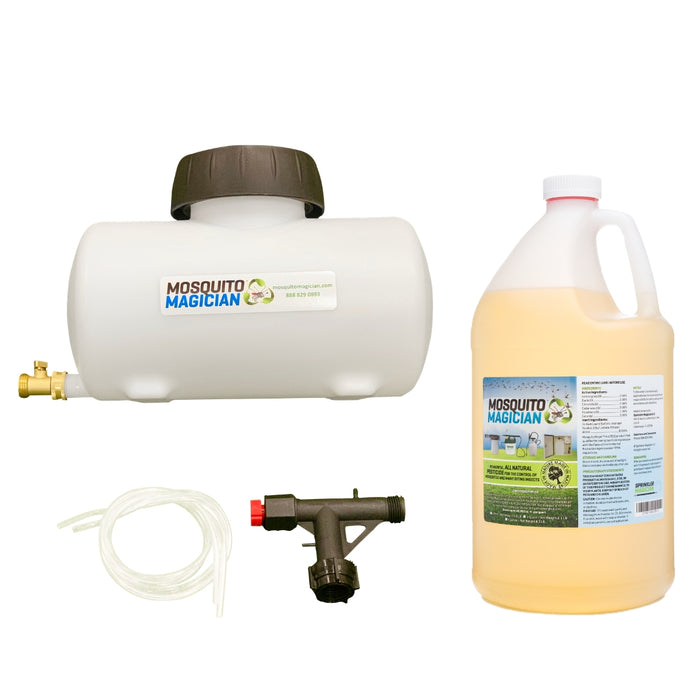Mosquito Magician Hose Injection System + 1 Gallon Concentrate