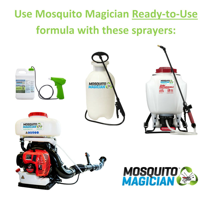Mosquito Magician READY TO USE Formula - 2 gallons