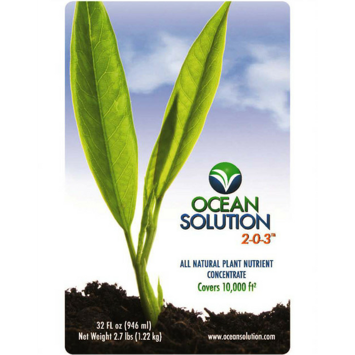Ocean Solution Organic Fertilizer - 1 gallon