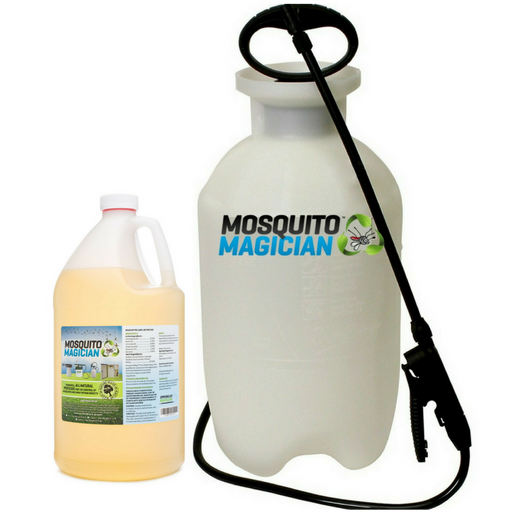 Pump Up Sprayer with 1 Gallon Natural Mosquito Killer & Repellent Concentrate Combo