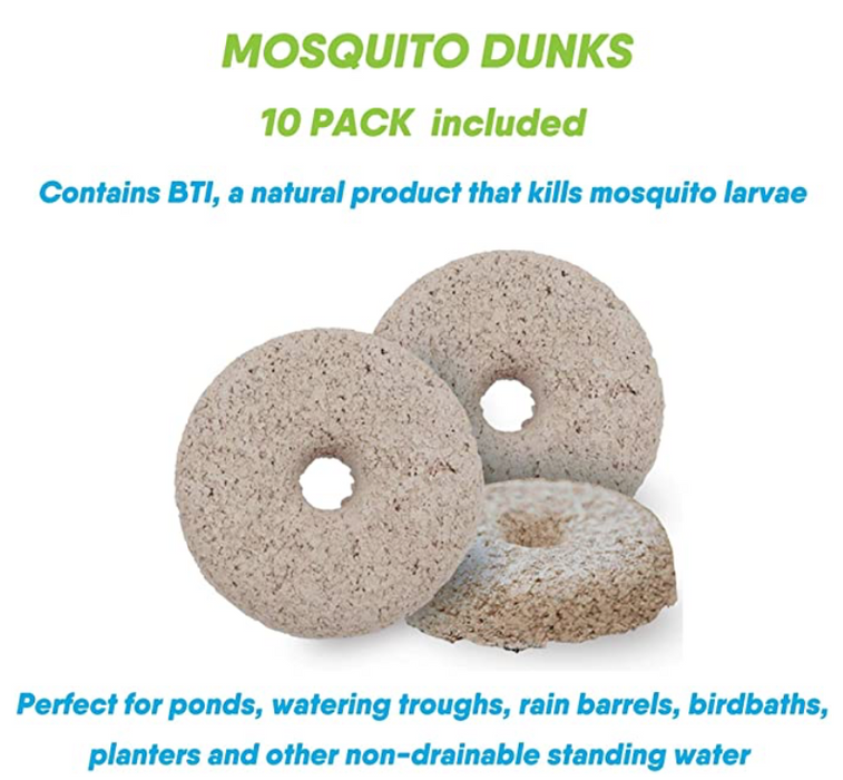 Natural Mosquito Killer and Insect Repellent Kit