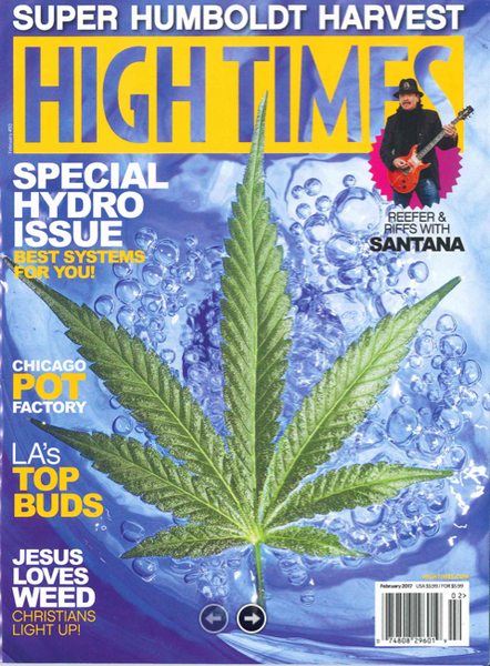MBV in High Times Magazine!