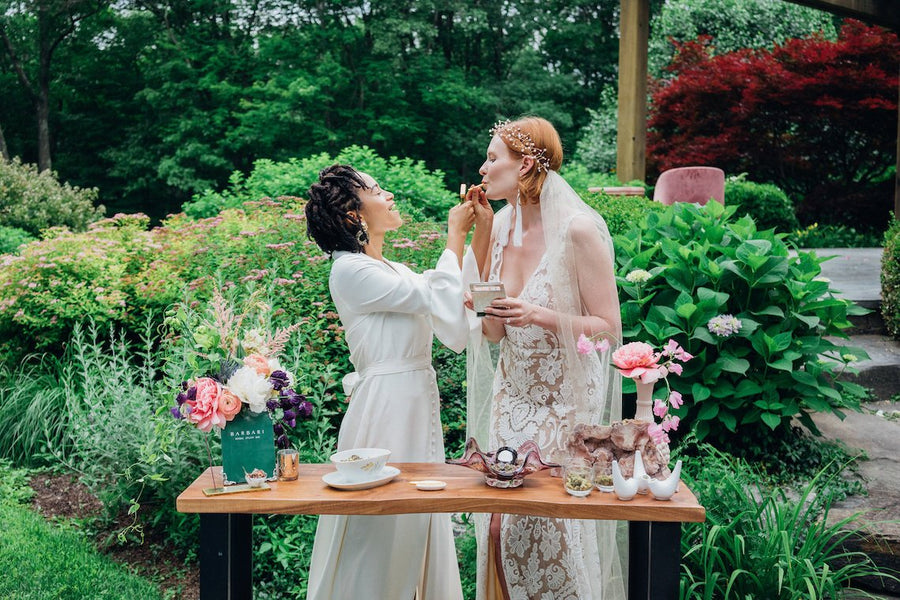Luxurious Weed Wedding Inspiration (With A Spliff Bar and My Bud Vases!)